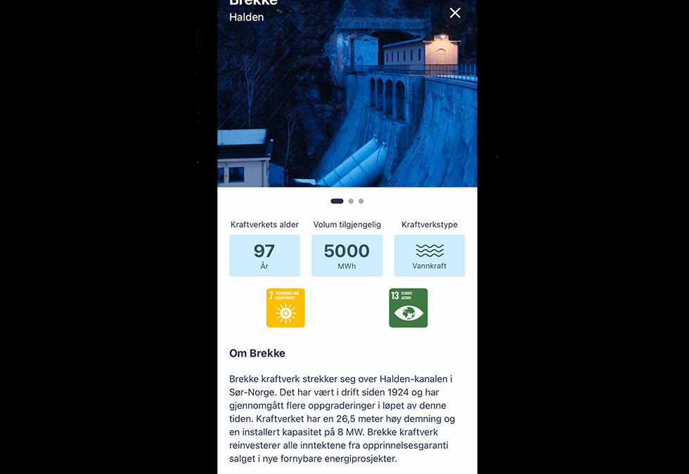 Illustrasjon av Vibb app